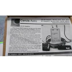 Alimentation secteur (220V AC) pour DSLR Canon,tension de  sortie 7.4V DC