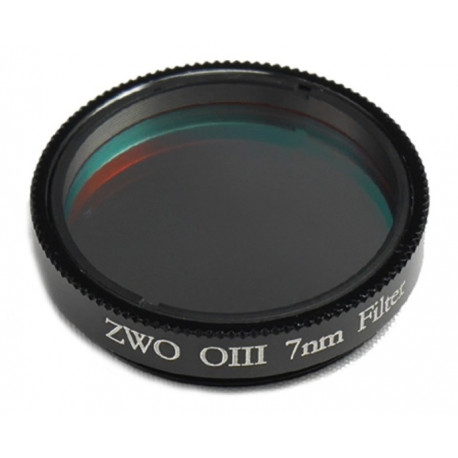 "Filtre ZWO OIII 1.25"" 7 um CCD"