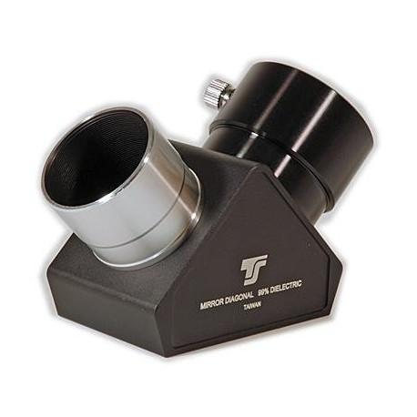 TS Optics Renvoi coudé à miroir 90°, rémunération diélectrique, 2'' protection quartz