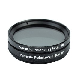 Filtres polarisants variable 1.25""