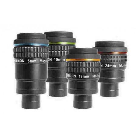 """Hyperion set avec oculaires 1.25"""" 5, 10, 17 et 24 mm"""