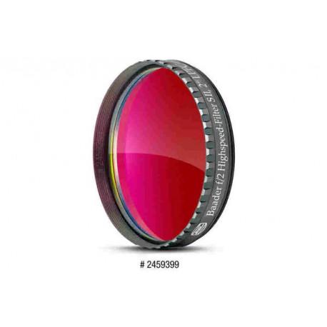 """Baader filtre S-II 2"""" pour optiques très rapide (de f1.8 à f3.5)"""
