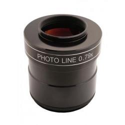 """Réducteur/Correcteur  TS Photoline 0.79x 3"""" 4 éléments pour astrophotographie"""