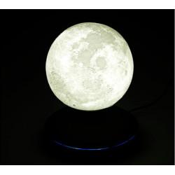 Lune lumineuse à lévitation magnétique