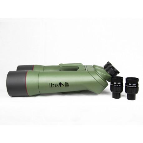 Jumelles Ibis 82 HD a 45° + Valise de transport