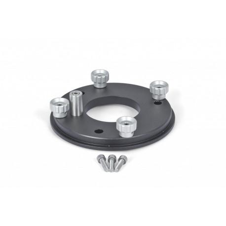 Support d'adaptation pour monture 10Micron sur Support de nivellement en acier Baader (2451187)