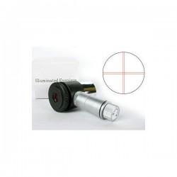 """Oculaire réticulé  éclairé -12,5 mm - 1.25"""" coulant"""