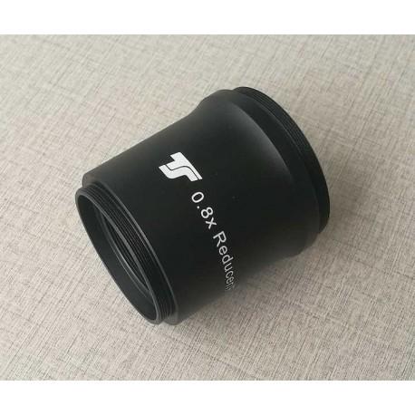 Correcteur TS-Optics 0.8x pour Réfracteur ED et Apo avec ouverture 60 à 65 mm